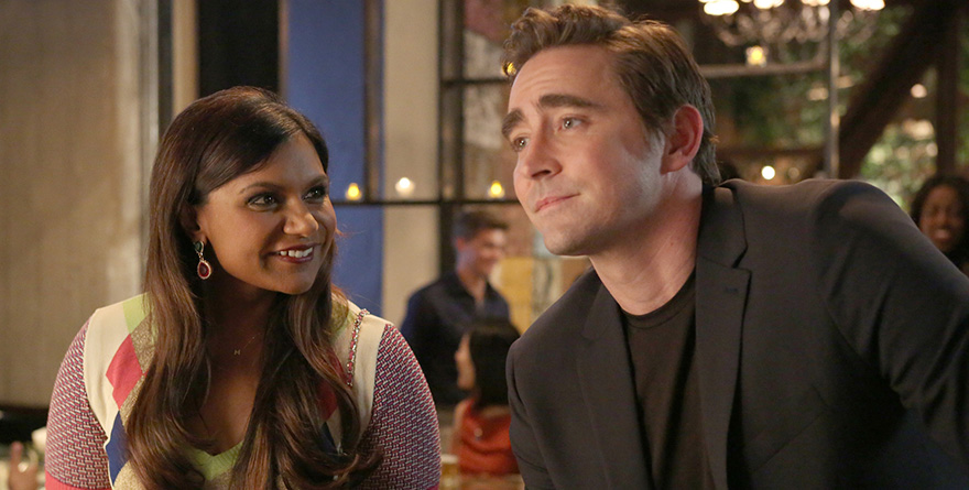 last nights mindy project was all about buttsex